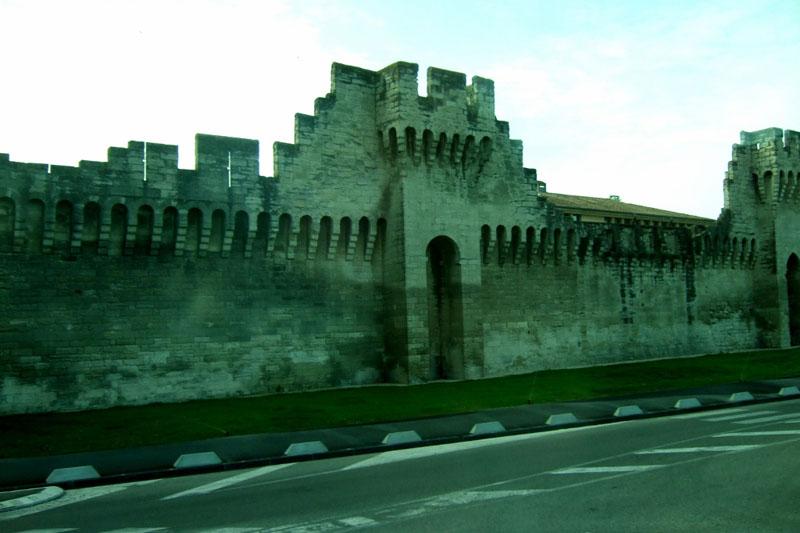 Walls of Avignon, France