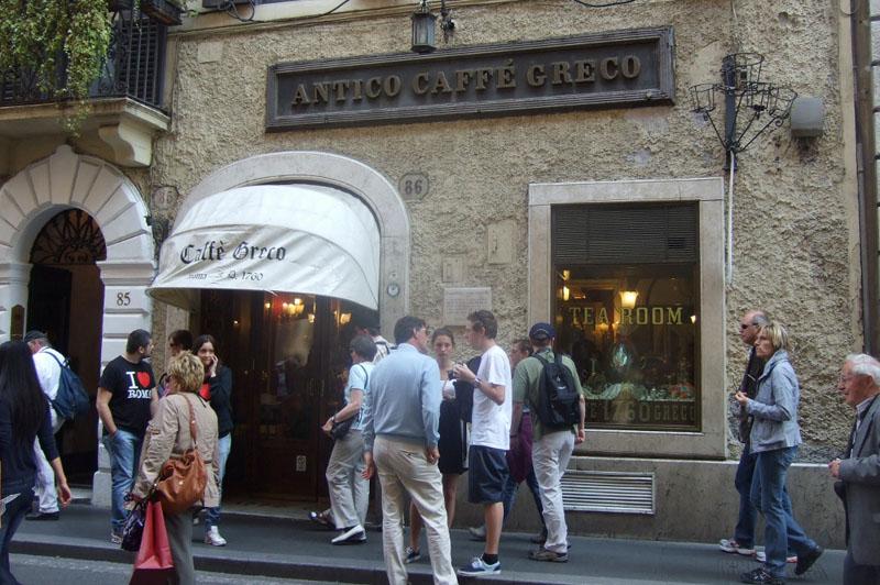 Caffè Greco  Rome, Italy