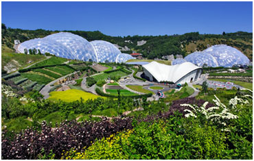 Eden Project, Austell, Cornwall, England, United Kingdom