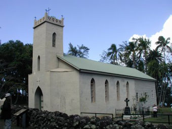 Father Damien's Church, Molokai, Hawaii
