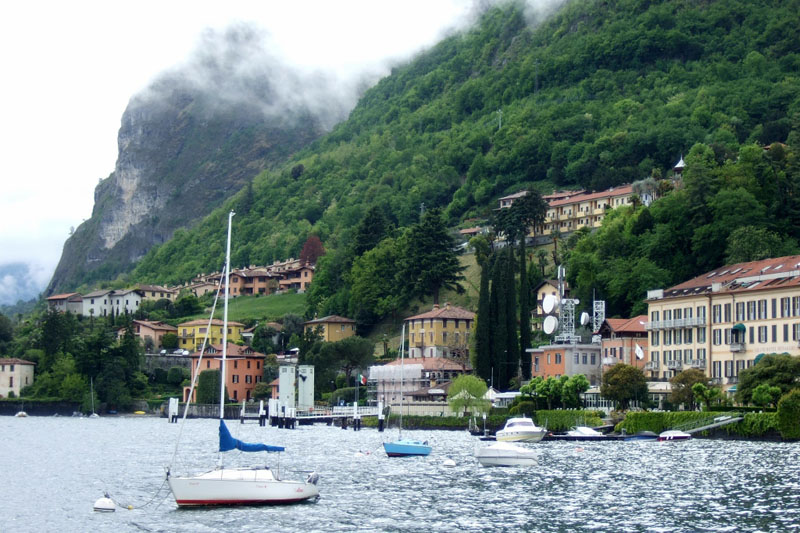 Menaggio on Lake Como, Italy
