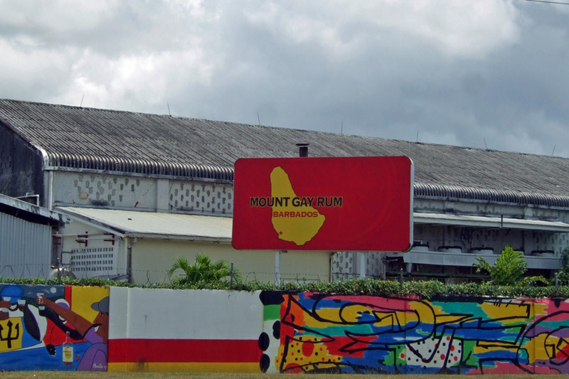 Mount Gay Rum Factory in Barbados
