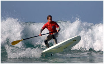 Paddle Surf Champions, Watergate Bay, Cornwall, England, United Kingdom