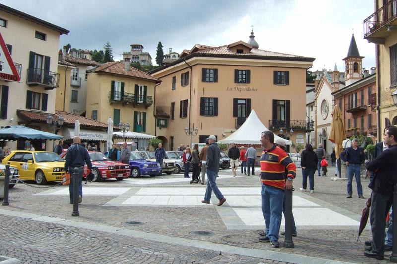 Piazza Garibaldi in Menaggio, Lake Como, Italy