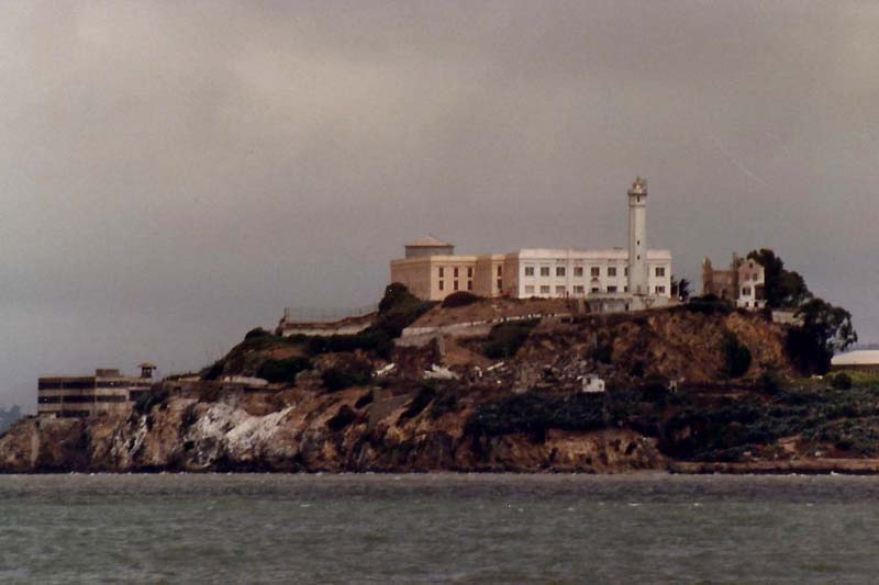 Alcatraz , San Francisco Bay, California
