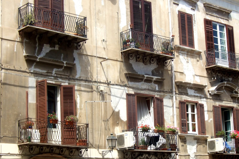 Apartments in Palermo, Sicily