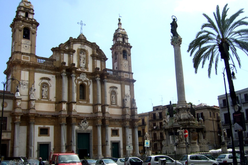 Church of St Ignatius of Olivella, Palermo, Sicily
