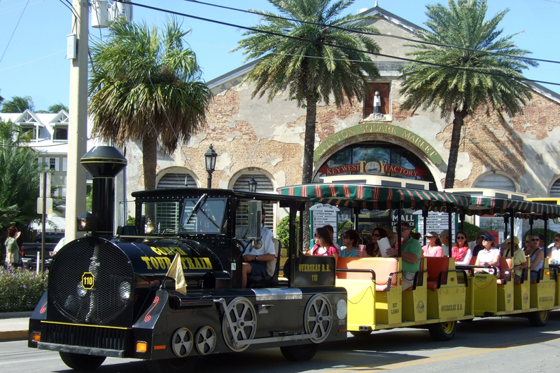 Conch Train Tour, Key West Florida