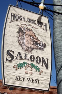 Hog's Breath Saloon Key West Florida