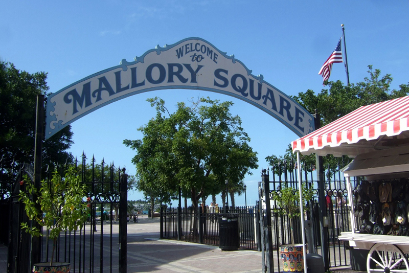 Mallory Square Key West Florida