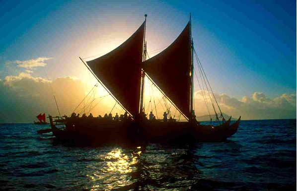 The Hokulea by Ruth Elayne Kongaika
