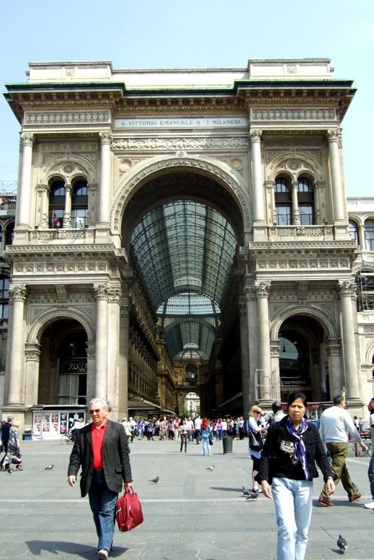 Galleria Vittorio Emanuele II, Milans Galleria, Italy