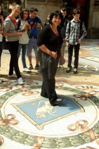 Mosaic Bull, Galleria Vittorio Emanuele II, Milan Galleria