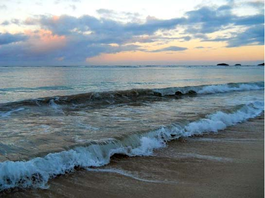 Waves on the North Shore of Oahu Copyright Ruth Elayne Kongaika.jpg