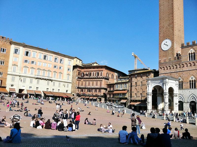Campo, Siena, Italy