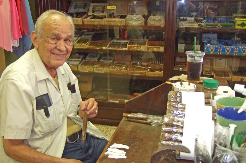 Cigar Maker, Ybor City, Tampa, Florida