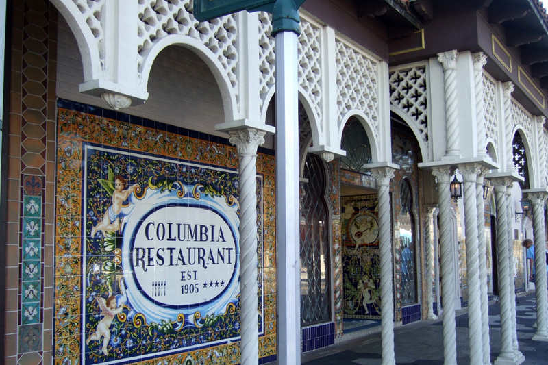 Columbia Restaurant Ybor City, Tampa, Florida