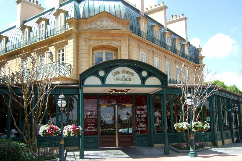 Epcot France Pavilion French Restaurant Walt Disney World