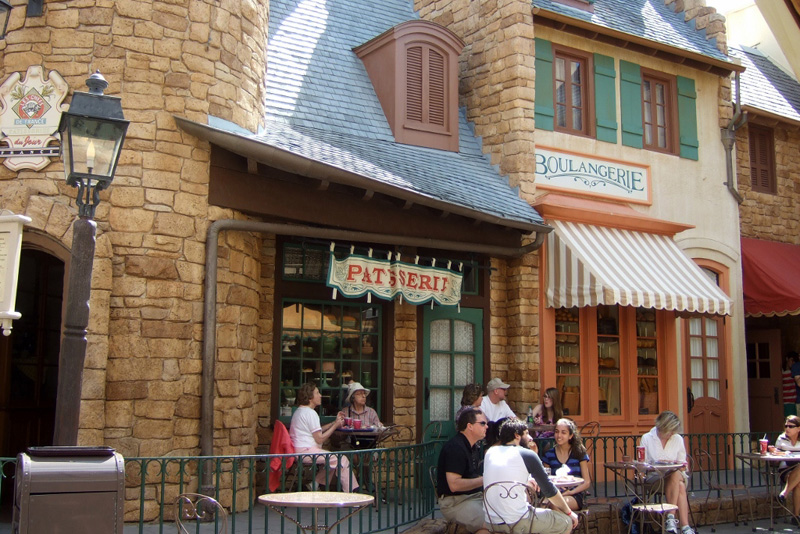 Epcot France Pavilion Pastry and Bread shops Walt Disney World