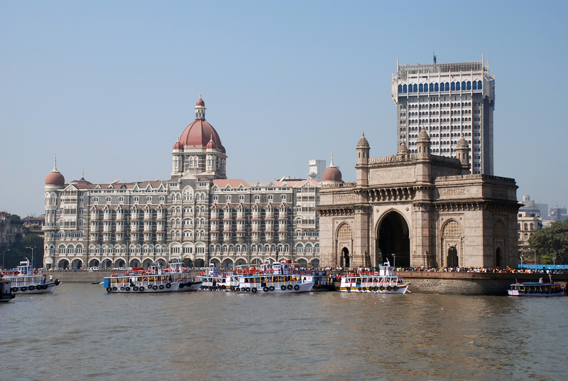 The Gateway of India monument in Mumbai (India)