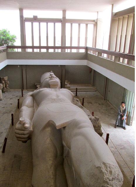 Ramses II at Memphis, Egypt Copyright REK