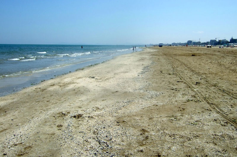 Rimini, Italy Beach