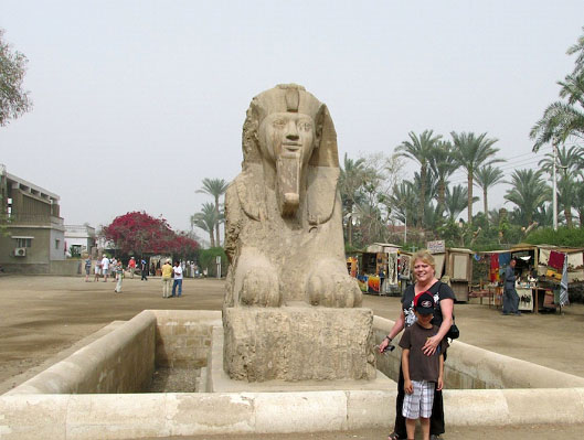 Sphinx at Memphis, Egypt
