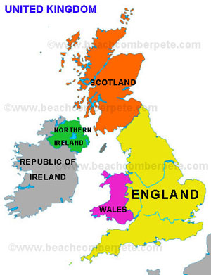 United Kingdom, Map of United Kingdom, United Kingdom Map ...